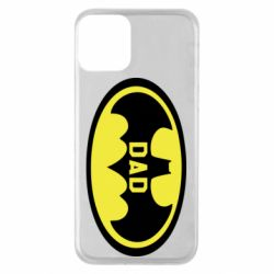 Чехол для iPhone 11 Batman dad