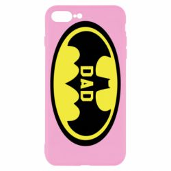 Чехол для iPhone 8 Plus Batman dad