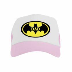 Дитяча кепка-тракер Batman dad