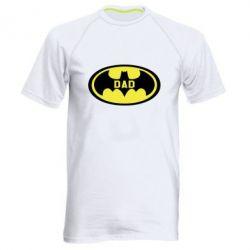 Купить Мужская спортивная футболка Batman dad, FatLine