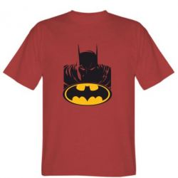 Мужская футболка Batman face - FatLine