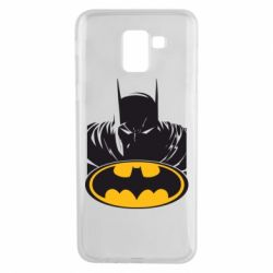 Чехол для Samsung J6 Batman face
