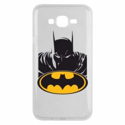 Чехол для Samsung J7 2015 Batman face