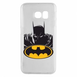 Чехол для Samsung S6 EDGE Batman face
