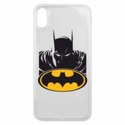 Чехол для iPhone Xs Max Batman face