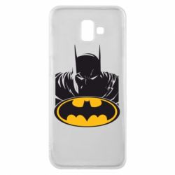 Чехол для Samsung J6 Plus 2018 Batman face