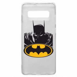 Чехол для Samsung S10+ Batman face
