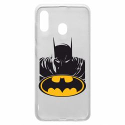 Чехол для Samsung A20 Batman face