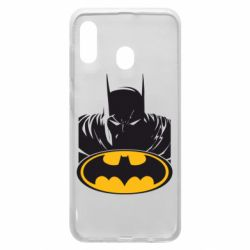 Чехол для Samsung A30 Batman face