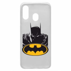 Чехол для Samsung A40 Batman face