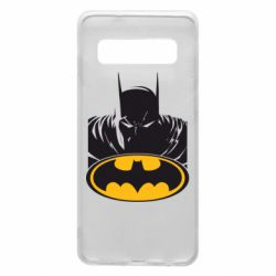 Чехол для Samsung S10 Batman face