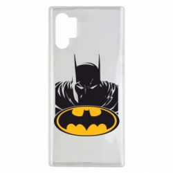 Чехол для Samsung Note 10 Plus Batman face
