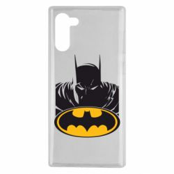Чехол для Samsung Note 10 Batman face