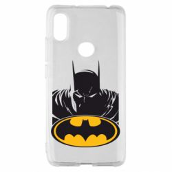 Чехол для Xiaomi Redmi S2 Batman face