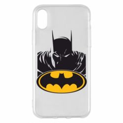 Чехол для iPhone X/Xs Batman face