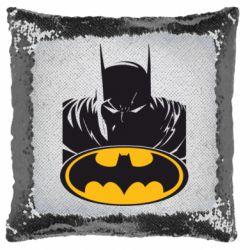 Подушка-хамелеон Batman face