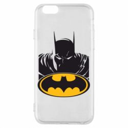 Чехол для iPhone 6/6S Batman face