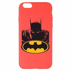 Чехол для iPhone 6 Plus/6S Plus Batman face
