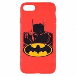 Чехол для iPhone 7 Batman face