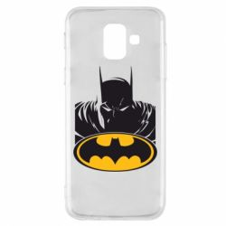 Чехол для Samsung A6 2018 Batman face