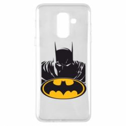 Чехол для Samsung A6+ 2018 Batman face