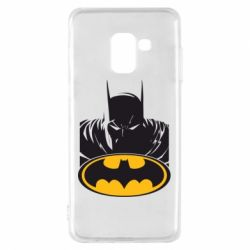 Чехол для Samsung A8 2018 Batman face