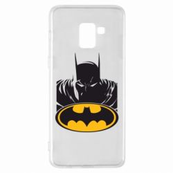Чехол для Samsung A8+ 2018 Batman face