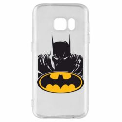Чехол для Samsung S7 Batman face