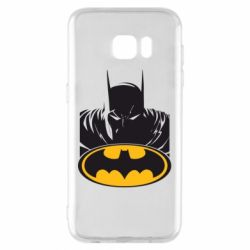 Чехол для Samsung S7 EDGE Batman face