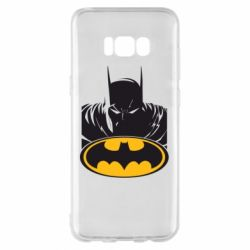 Чехол для Samsung S8+ Batman face