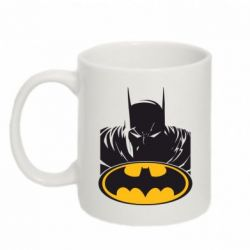 Кружка 320ml Batman face - FatLine