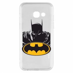 Чехол для Samsung A3 2017 Batman face