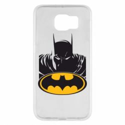 Чехол для Samsung S6 Batman face