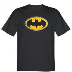 Мужская футболка Batman Gold Logo - FatLine