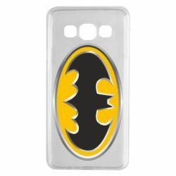 Чехол для Samsung A3 2015 Batman Gold Logo