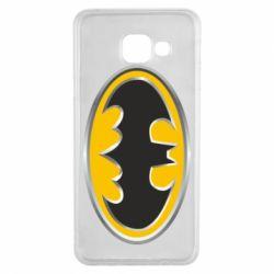 Чехол для Samsung A3 2016 Batman Gold Logo