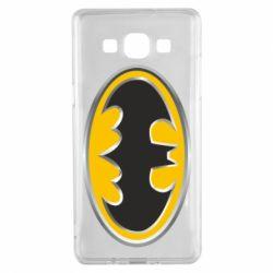 Чехол для Samsung A5 2015 Batman Gold Logo