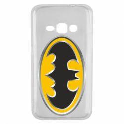 Чехол для Samsung J1 2016 Batman Gold Logo