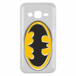 Чехол для Samsung J2 2015 Batman Gold Logo