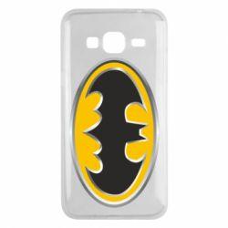Чехол для Samsung J3 2016 Batman Gold Logo