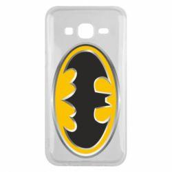 Чехол для Samsung J5 2015 Batman Gold Logo