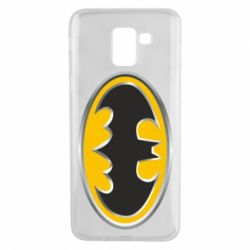 Чехол для Samsung J6 Batman Gold Logo