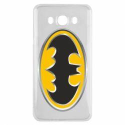 Чехол для Samsung J7 2016 Batman Gold Logo