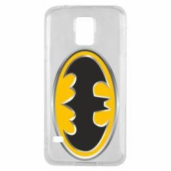 Чехол для Samsung S5 Batman Gold Logo