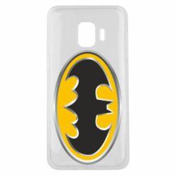 Чехол для Samsung J2 Core Batman Gold Logo