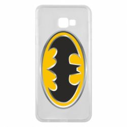 Чехол для Samsung J4 Plus 2018 Batman Gold Logo
