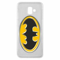 Чехол для Samsung J6 Plus 2018 Batman Gold Logo