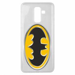 Чехол для Samsung J8 2018 Batman Gold Logo