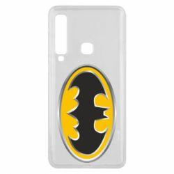 Чехол для Samsung A9 2018 Batman Gold Logo