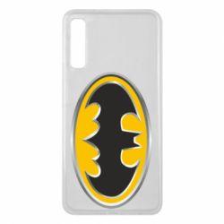 Чехол для Samsung A7 2018 Batman Gold Logo